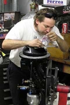 Checking Tolerances On Pump