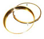 Bronze Shouldered Wear Ring